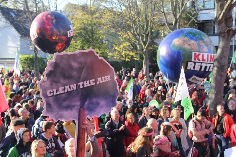 Klima schützen - Kohle stoppen!