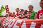Rote Linie, Tagebau Hambach, 26.08.2017