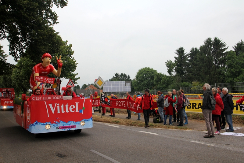 Rote Linie Tour de France