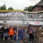 """Solidaritätsdemo mit """"Ende Gelände""""; Fotos: D. Jansen"""