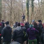 Führung durch den Hambacher Wald.