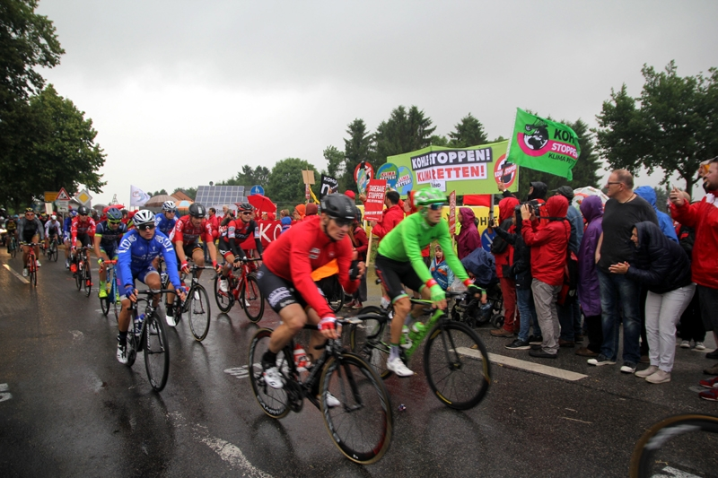 Rote Linie Tour de France
